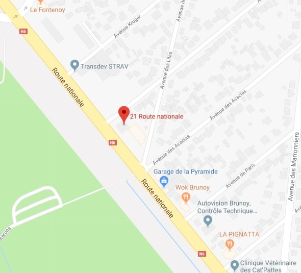 21 route nationale 6, 91800 Brunoy